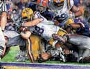 LSU Unstoppable Jacob Hester Watercolor