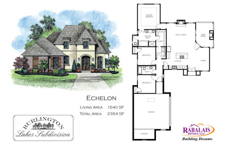 Rabalais Homes Echelon Flyer